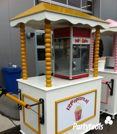 Popcornkar huren in regio Vlissingen